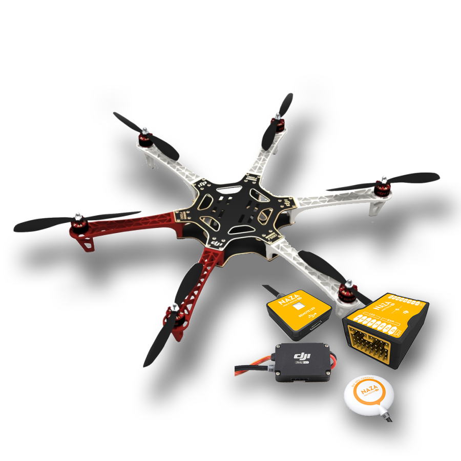 DJI FLAMEWHEEL F550 incl NAZA V2 & GPS