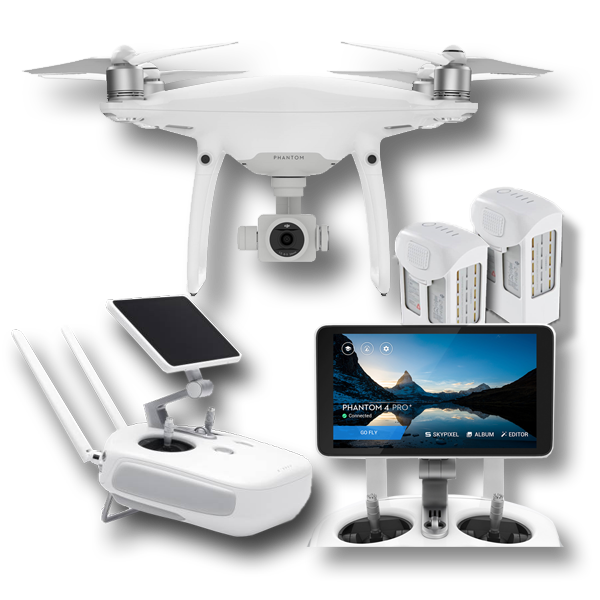 DJI PHANTOM 4 PRO Plus Combo incl 2 extra accus